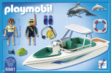 PLAYMOBIL 6981 FAMILY FUN Diving Trip with Speedboat