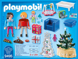 PLAYMOBIL 9495 CHRISTMAS Living Room with Illuminated Tree