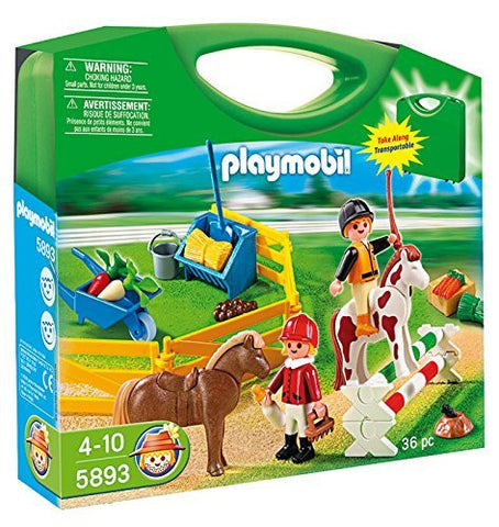 PLAYMOBIL 5893 COUNTRY Pony Farm Carry Case