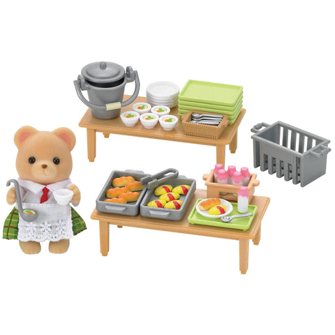SYLVANIAN 5108 School Lunch Set