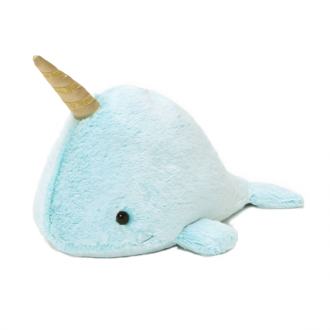 GUND Nori NARWHAL plush - SMALL