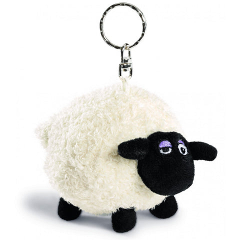 SHAUN THE SHEEP Plush Shirley Keyring 10cm