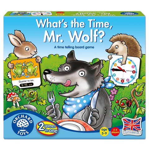 ORCHARD TOYS What's The Time, Mr Wolf? game