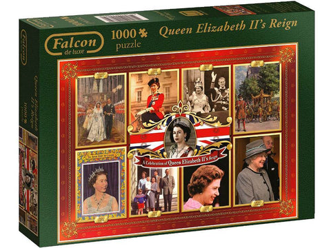 FALCON Queen Elizabeth II's Reign 1000pc jigsaw