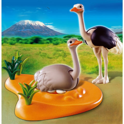 PLAYMOBIL 4831 Ostriches