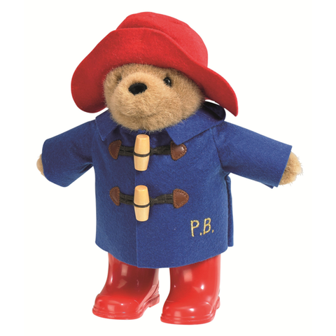 PADDINGTON BEAR Medium with Boots & Embroidered Coat