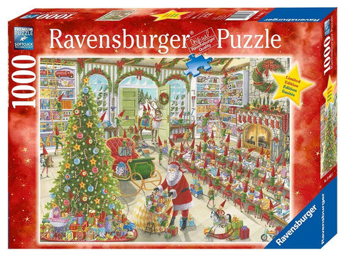 RAVENSBURGER Santa's Ready 1000pc jigsaw puzzle