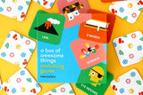 A BOX OF AWESOME THINGS Matching game by Wee Society