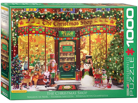 Eurographics THE CHRISTMAS SHOP 1000pc jigsaw puzzle