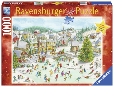 RAVENSBURGER Playful Christmas Day 1000pc puzzle