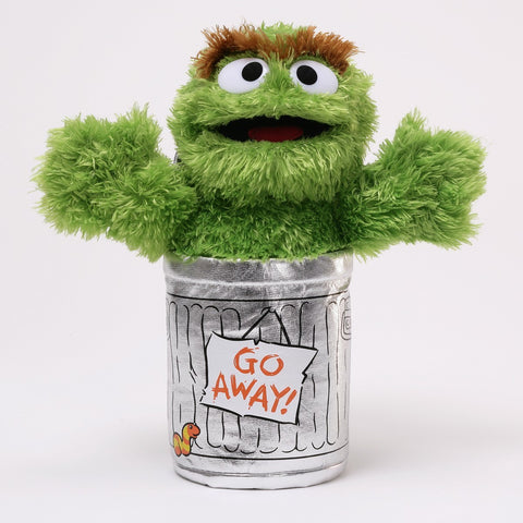 Sesame Street OSCAR THE GROUCH 25cm plush