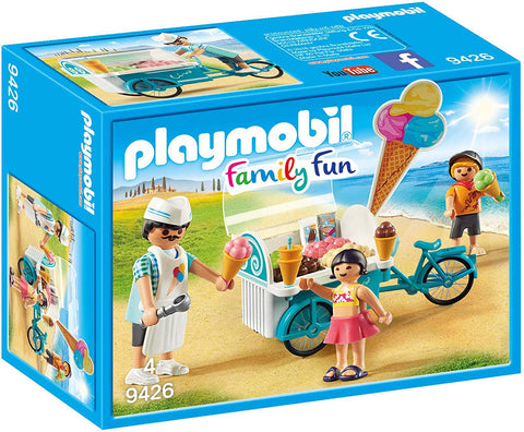 PLAYMOBIL 9426 FAMILY FUN Ice Cream Cart