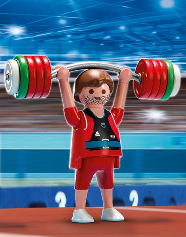 PLAYMOBIL 5199 OLYMPICS Weightlifter