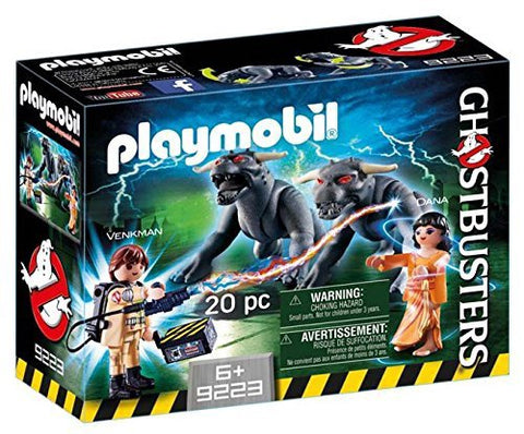 PLAYMOBIL 9223 GHOSTBUSTERS™ Venkman and Terror Dogs