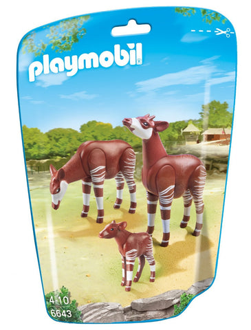 PLAYMOBIL 6643 ZOO Okapi Family