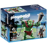 PLAYMOBIL 6004 KNIGHTS Giant Troll with Dwarf Fighter