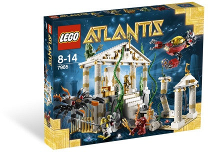 LEGO 7985 ATLANTIS City of Atlantis