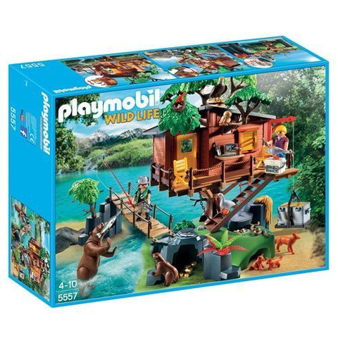 PLAYMOBIL 5557 WILDLIFE Adventure Tree House