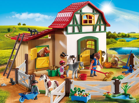 PLAYMOBIL 6927 Pony Farm set