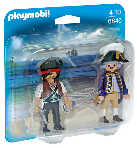 PLAYMOBIL 6846 PIRATES Pirate and Soldier DUO PACK