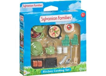 SYLVANIAN 5028 Kitchen Cooking Set