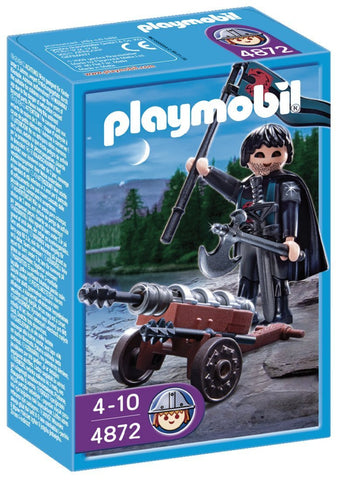 PLAYMOBIL 4872 Falcon Knight Cannon Guard