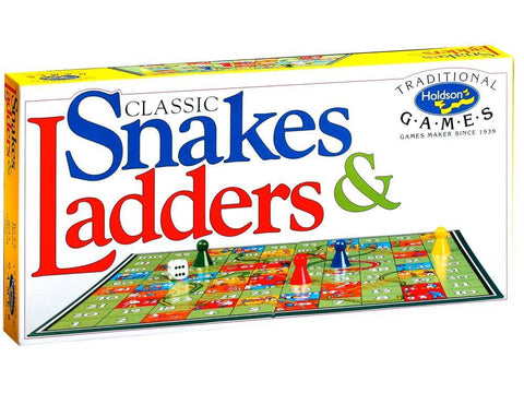 Holdson CLASSIC SNAKES & LADDERS
