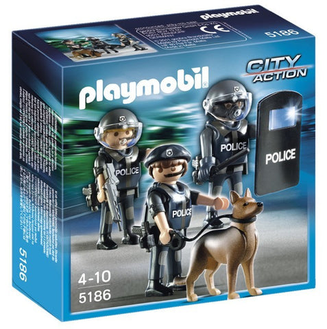 PLAYMOBIL 5186 Police Special Forces Unit