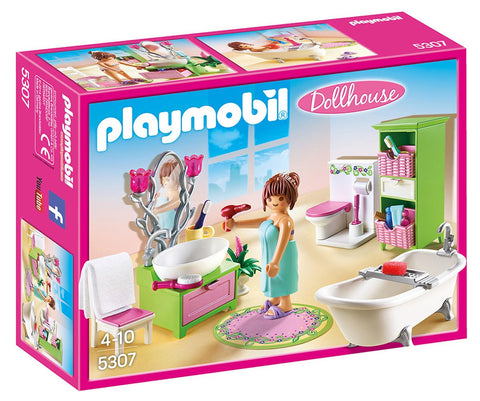 PLAYMOBIL 5307 DOLLHOUSE Romantic Vintage Bathroom set