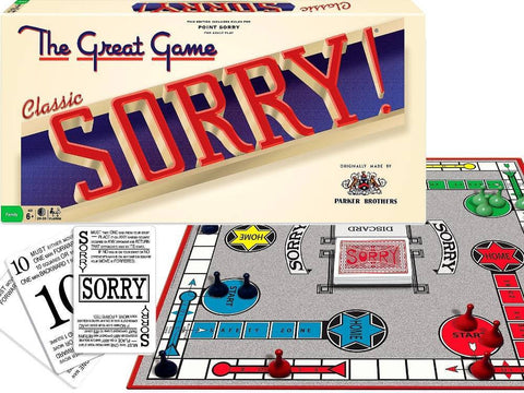 SORRY! board game Classic edition