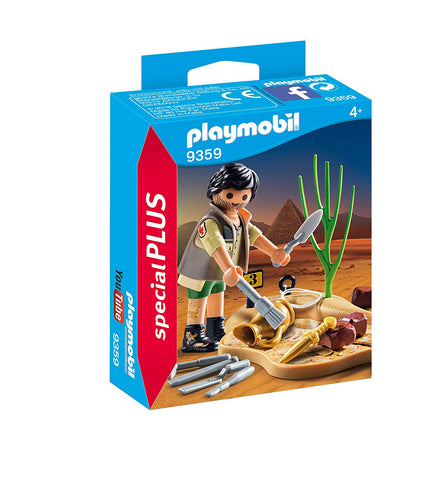 PLAYMOBIL 9359 SPECIAL PLUS Archaeologist