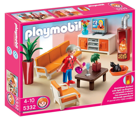 PLAYMOBIL 5332 Comfortable Living Room set