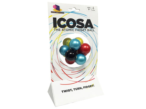 ICOSA Atomic Fidget Ball by Gamewright