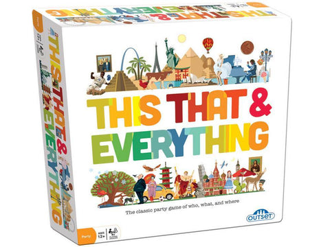 THIS THAT & EVERYTHING board game