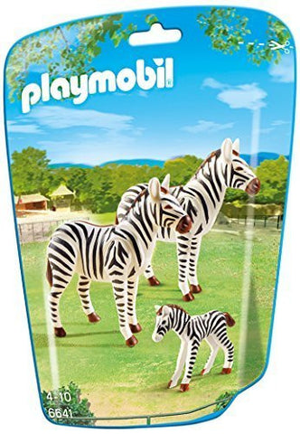 PLAYMOBIL 6641 ZOO Zebra Family