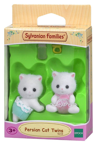 SYLVANIAN 5219 Persian Cat Twin babies