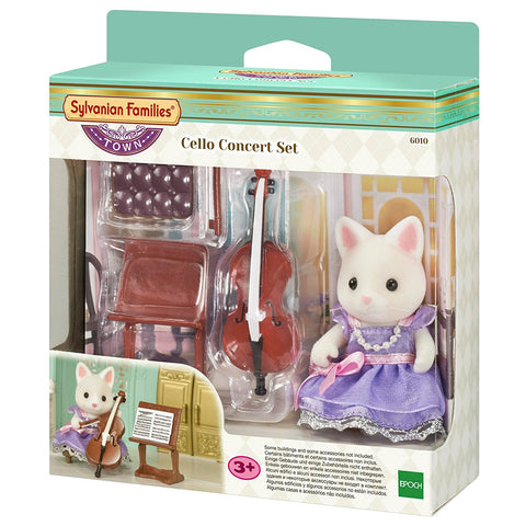 SYLVANIAN FAMILIES 6010 Cello Concert set