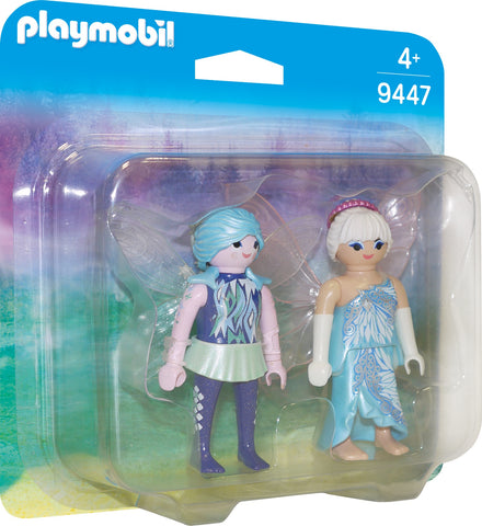PLAYMOBIL 9447 CRYSTAL PALACE  Winter Fairies DUO PACK