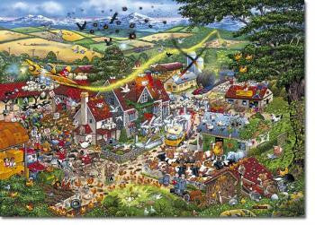 Gibson I LOVE THE FARMYARD 1000pc jigsaw