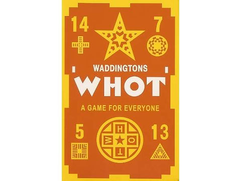 Waddingtons WHOT card game
