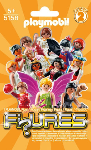 PLAYMOBIL 5158 FIGURES Girls Series 2