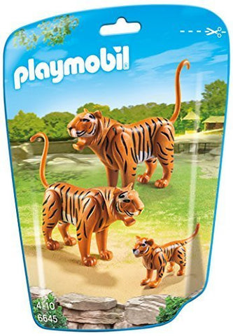 PLAYMOBIL 6645 ZOO Tiger Family