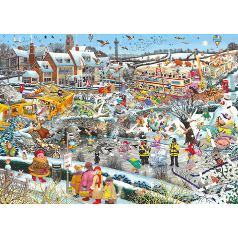 Gibson I LOVE WINTER 1000pc jigsaw