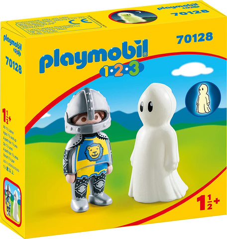 PLAYMOBIL 70128 1.2.3 Knight with Ghost set