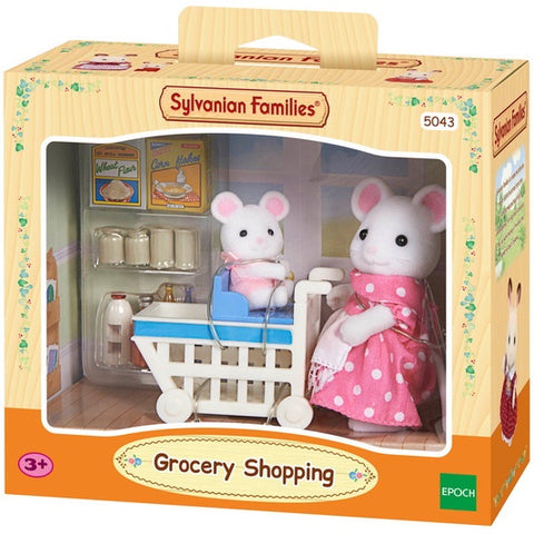 SYLVANIAN 5043 Grocery Shopping set