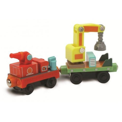Chuggington Wooden Railway RESCUE CARS