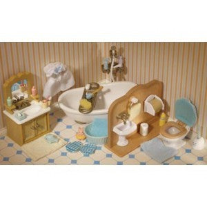 SYLVANIAN 4528 Country Bathroom Set