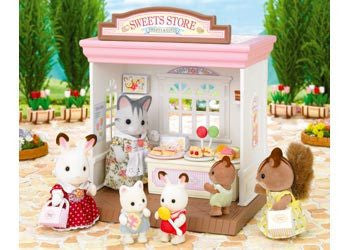 SYLVANIAN 5051 Sweets Store