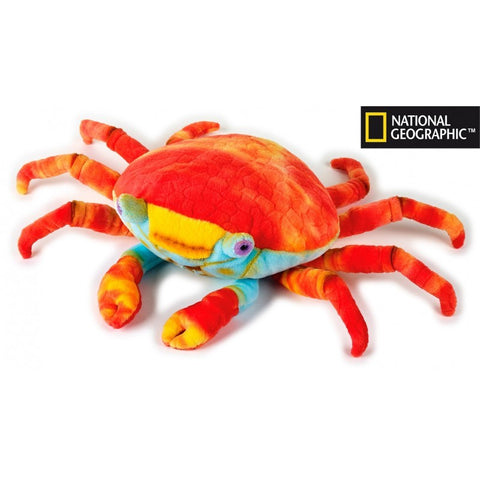 NATIONAL GEOGRAPHIC Sally Lightfoot Crab 47cm plush