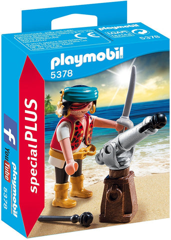 PLAYMOBIL 5378 SPECIAL PLUS Pirate with Cannon